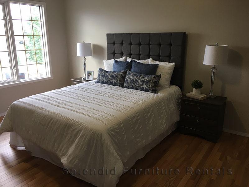 Staged Bedroom in Edmonton