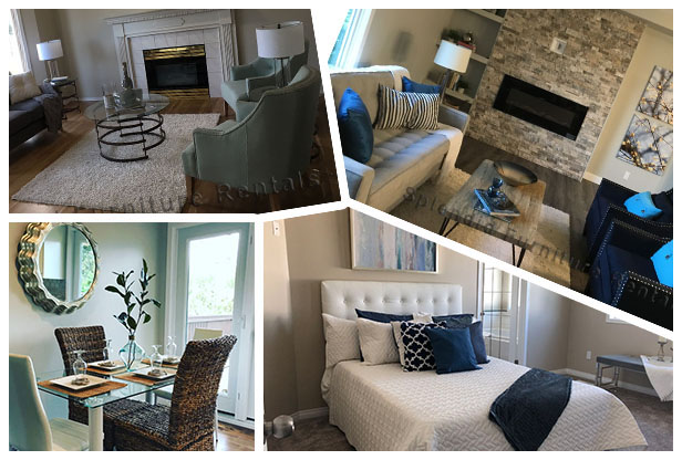 edmonton home staging collage