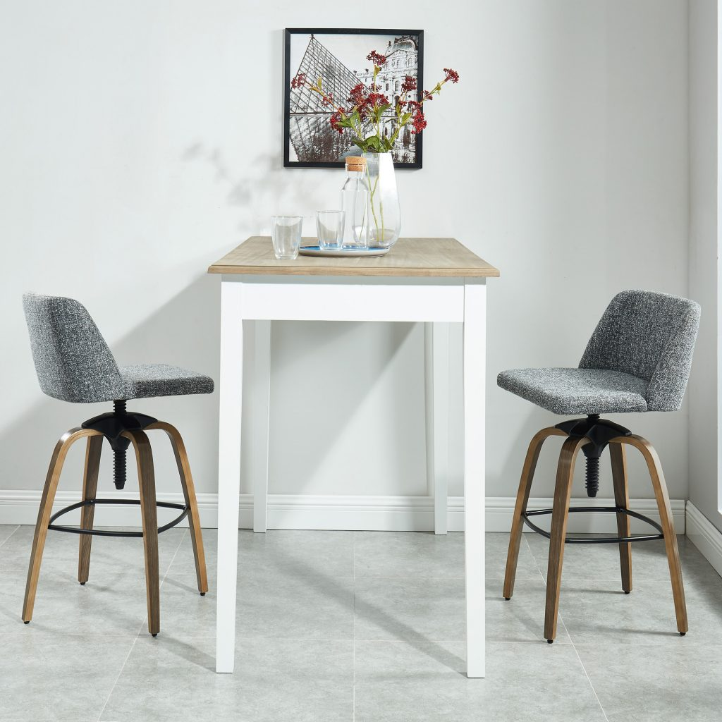 Milo Grey Adjustable Stool