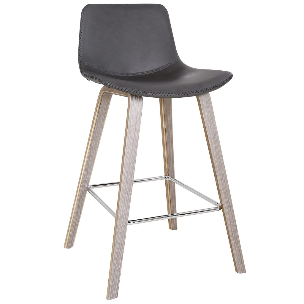 "Durant 26"" Charcoal Counter Stool"