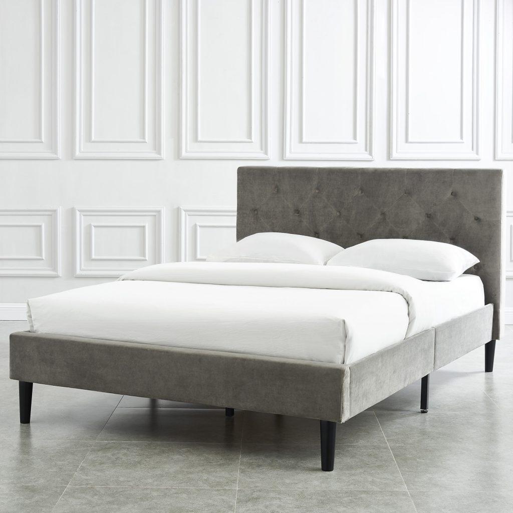 Armando Platform Grey Bed