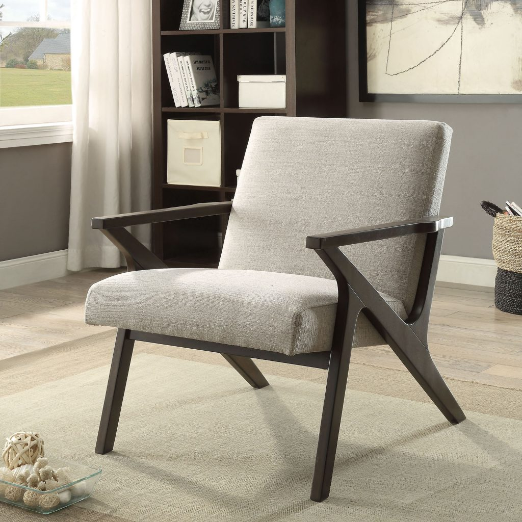 Beso Beige Accent Chair