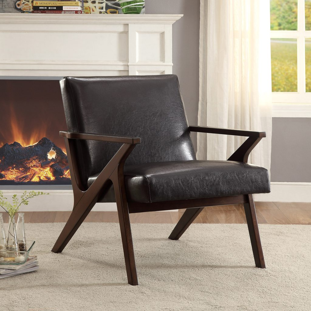 Beso Brown Accent Chair
