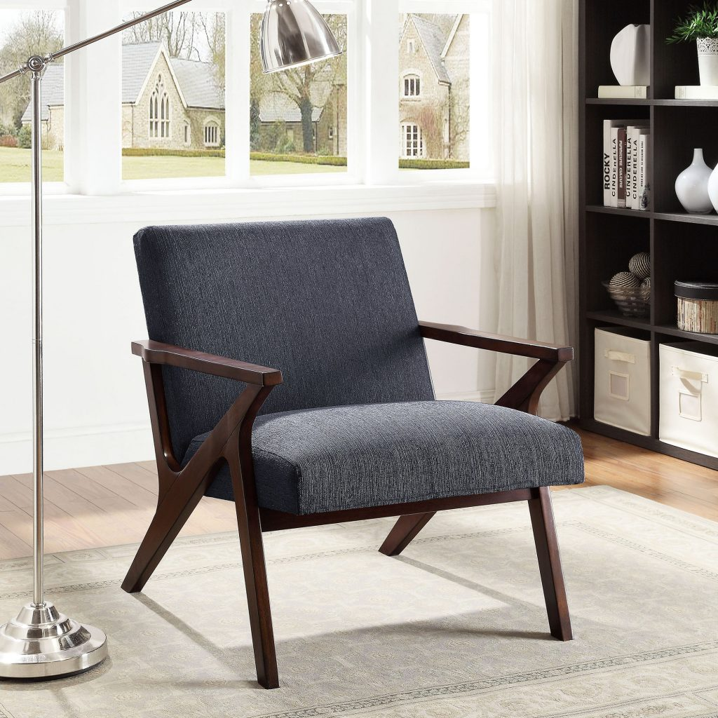 Beso Grey Accent Chair