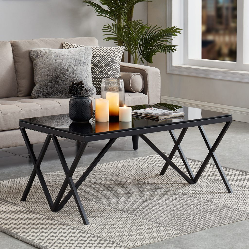 Calix Black Coffee Table