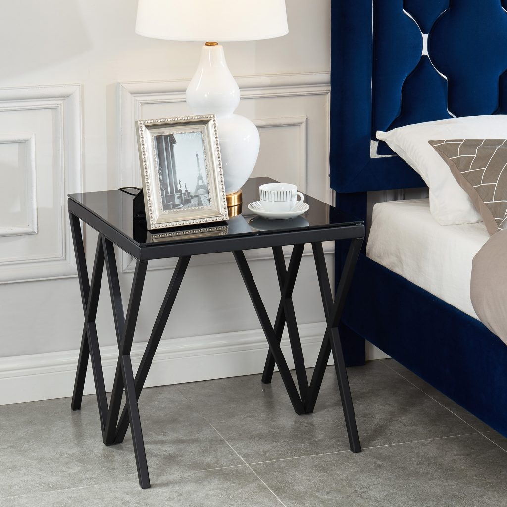 Calix Black Accent Table