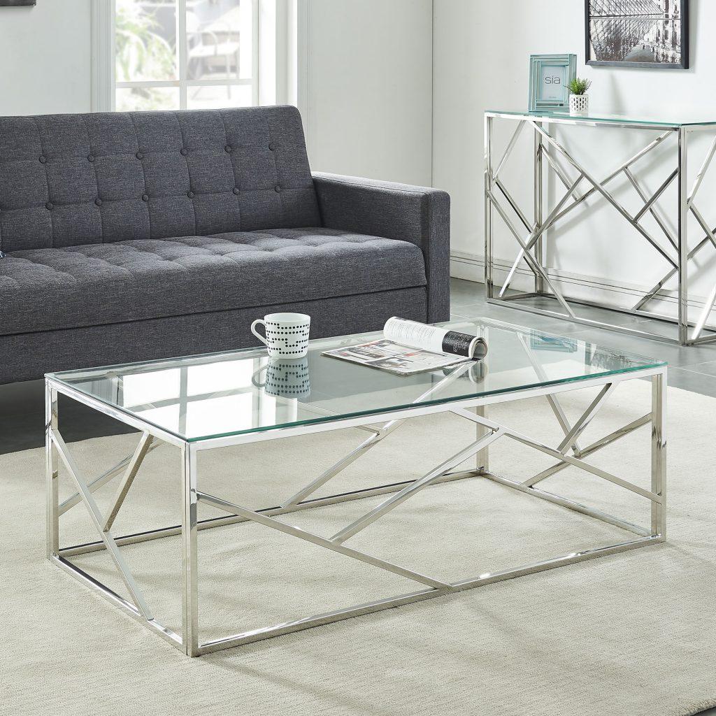 Juniper Silver Coffee Table