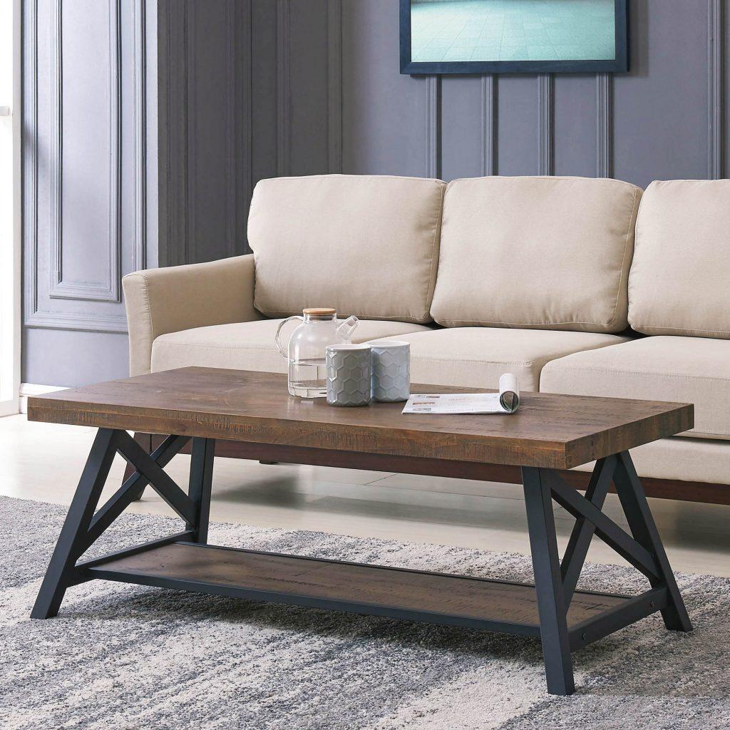 Langport Rustic Oak Coffee Table