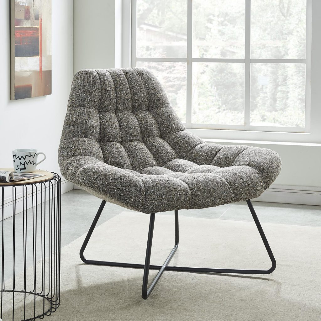 Shelby Camel Blend Accent Chair