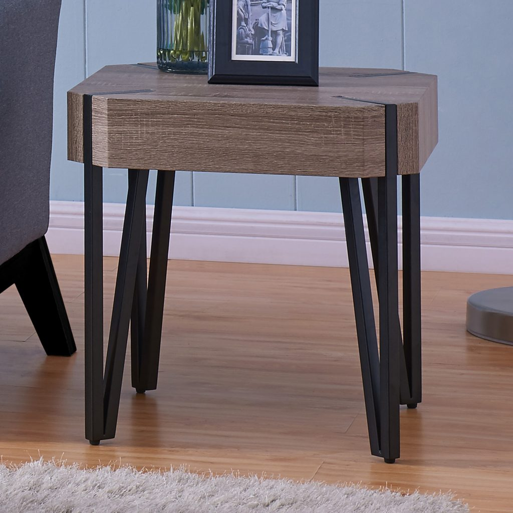 Theo Reclaimed Accent Table