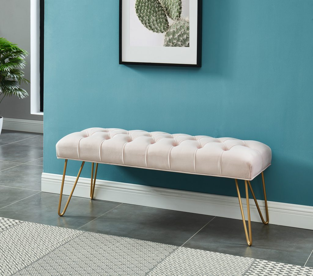 Vdara Blush & Gold Bench