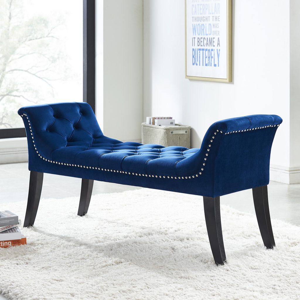 Velci Blue Bench