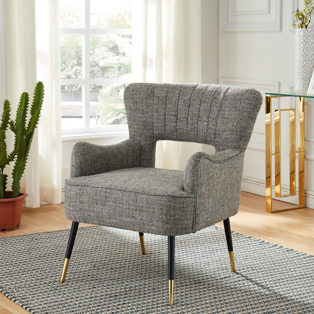 Vince Camel Blend Accent Chair
