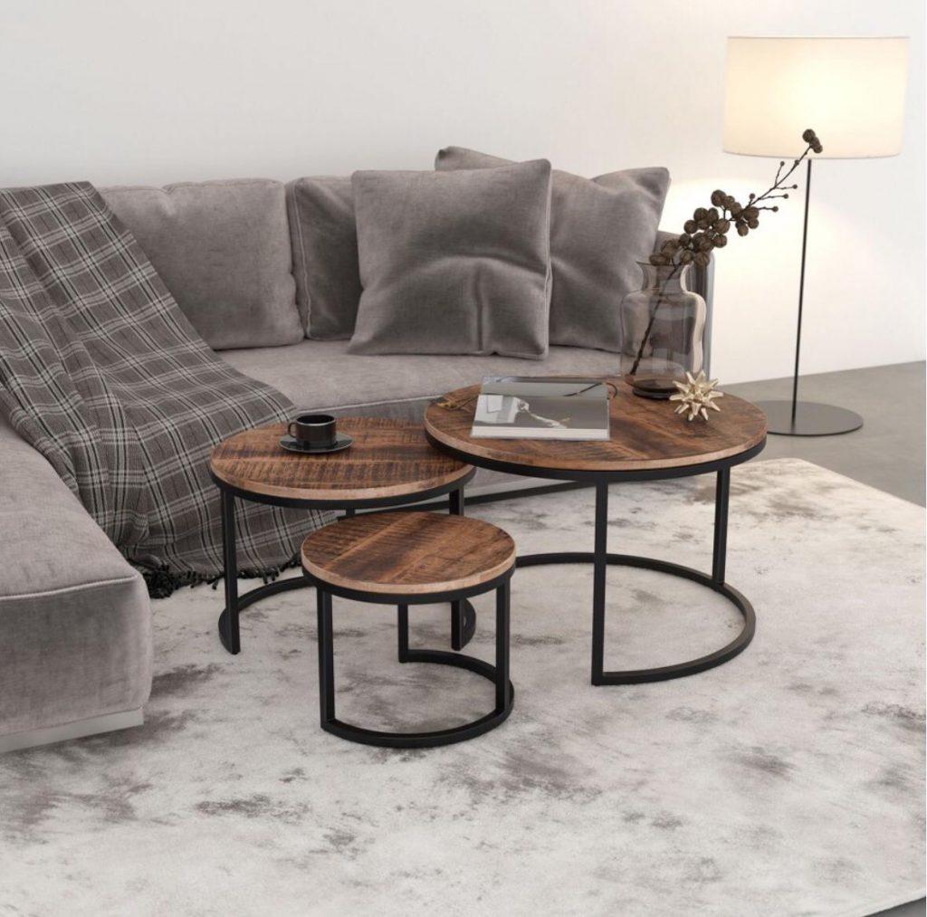 Darsh 3pk Coffee Table Set