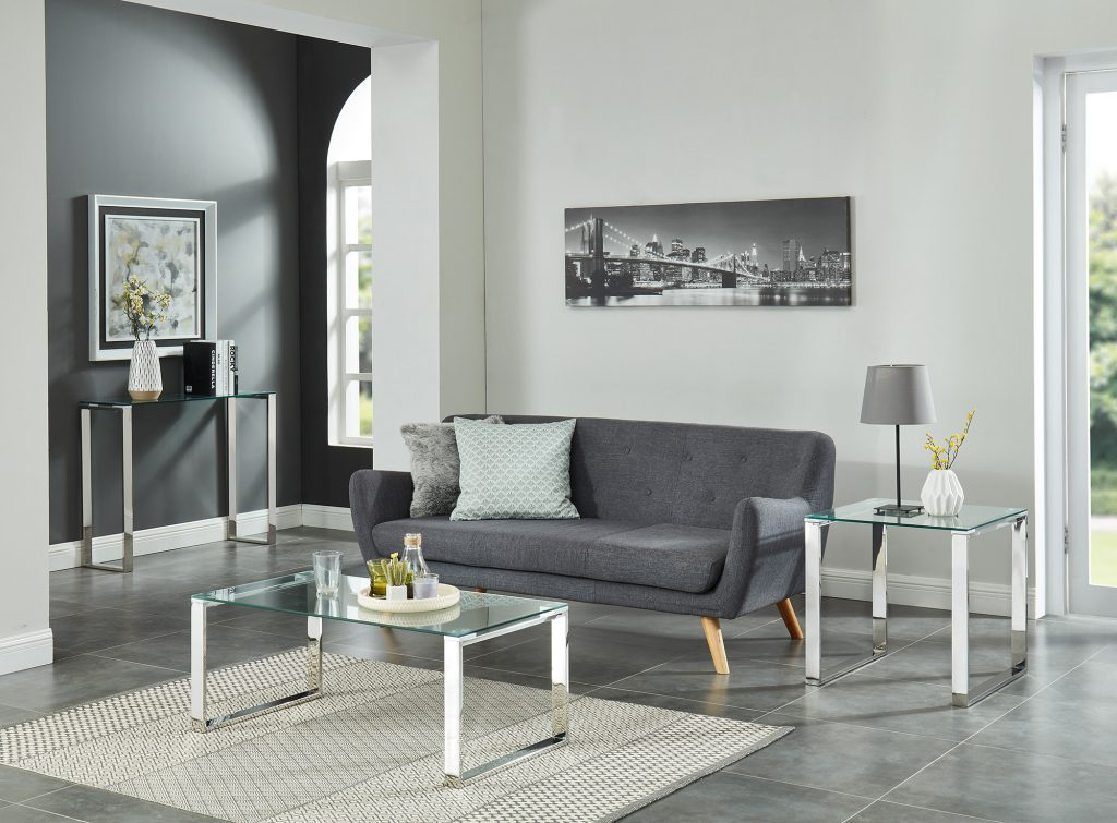 Zevon Silver Coffee Table